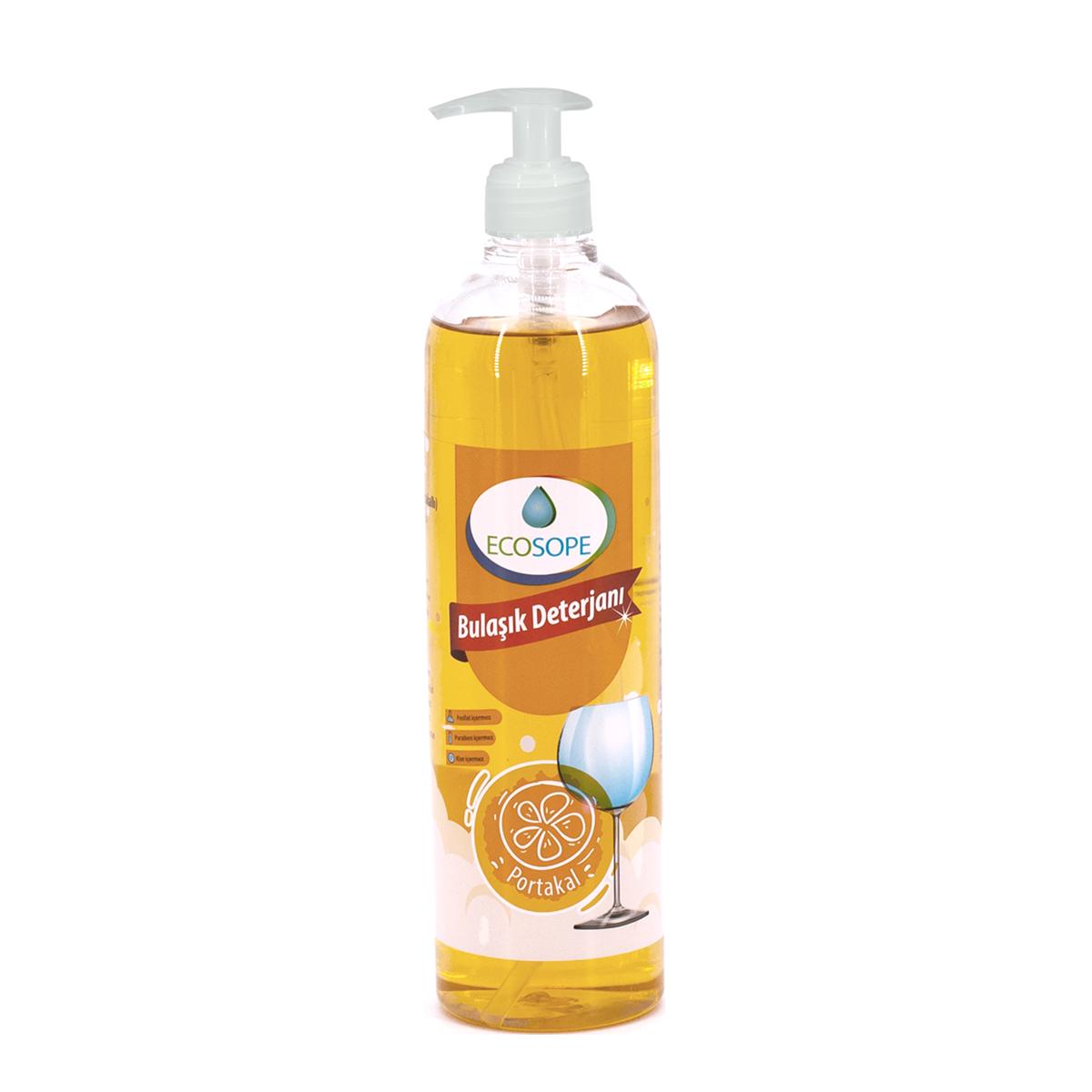 Ecosope Elde Bulaşık Deterjanı / Portakal