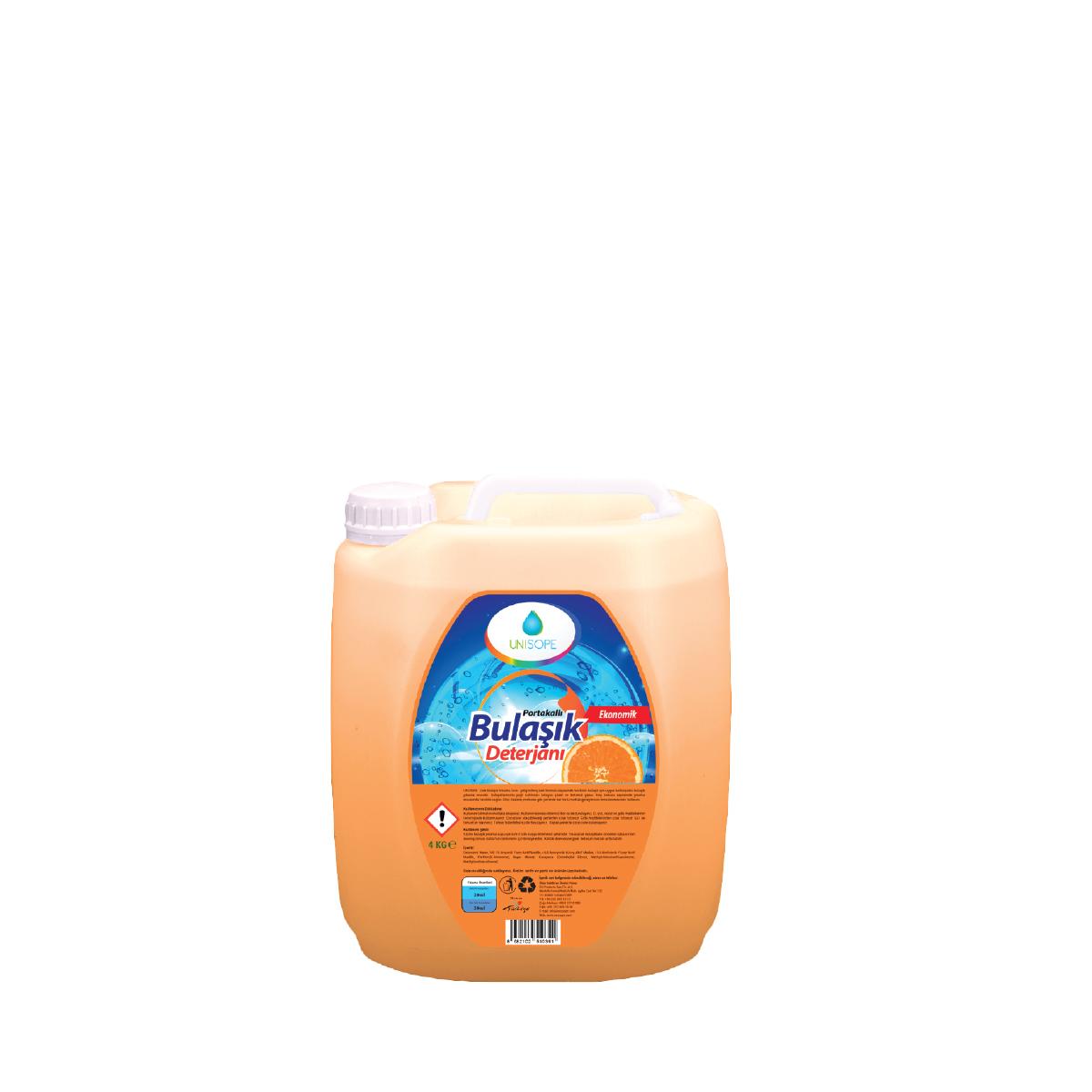 Unısope Elde Bulaşık Yıkama Sıvısı Portakal Kokulu