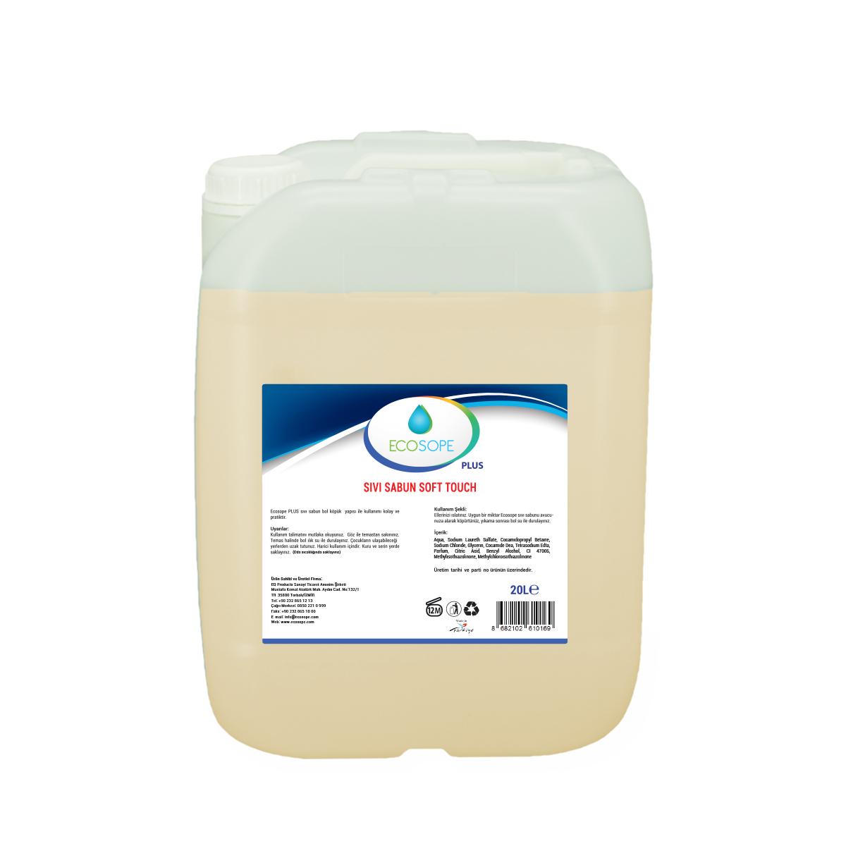 Ecosope Sıvı Sabun Soft Touch